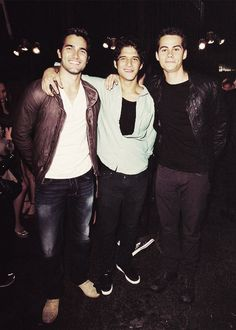 Teen Wolf; Tyler & Tyler & Dylan