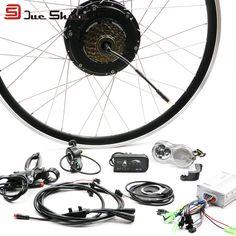 """36V 500W Electric Bike E Bike Rear Wheel Motors for 26"""" 700C Bike Bicycle LCD LED Display Controller Hall Sensor Ebike Kit"""