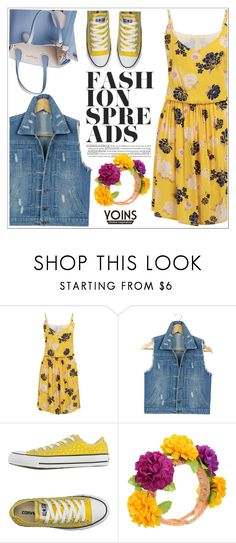 """Yoins"" by teoecar ❤ liked on Polyvore featuring Converse"