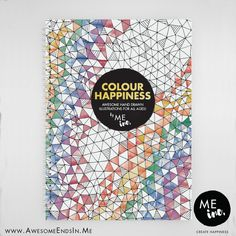 Colour Happiness | Colouring In Book