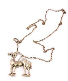 Retro Camel Necklace Rs.550