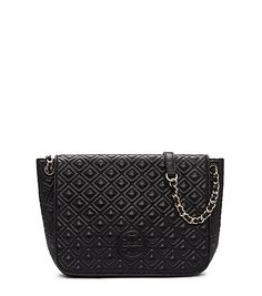 MARION QUILTED SMALL FLAP SHOULDER BAG