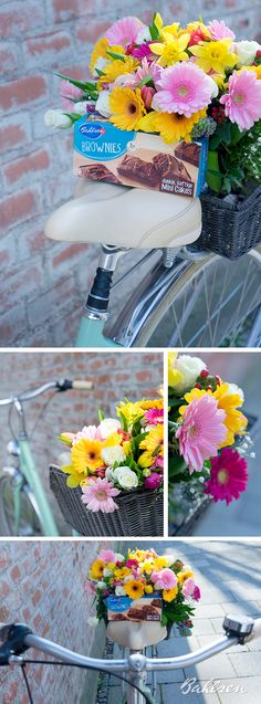 Frühling überall – auch auf der Fahrradtour immer mit dabei. // Spring is here – it's even blooming on your bike. #Spring #Frühling #Bahlsen #LifeIsSweet