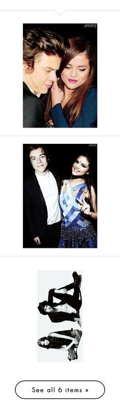 """Selena Gomez & Harry Styles (Sarry/harlena) - My manips - Follow my tumblr"" by yeahsarry ❤ liked on Polyvore featuring harrystyles, selenagomez, Sarry, harlena, harlena/sarry, sarry and selena manips"