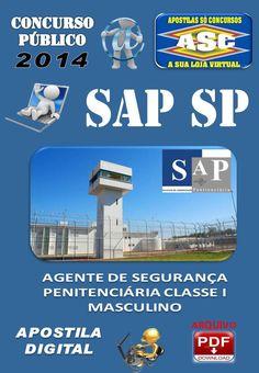 Apostila Concurso Publico SAP SP Agente de Seguranca Penitenciaria 2014