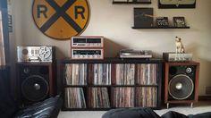 Record Collection #RXR #Music #hifi
