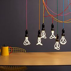 """Plumen is the world's first designer energy saving light bulb, designed by Hulger & Samuel Wilkinson. The name Plumen comes from the """"plume,"""" the decorative feathers of a bird and """"lumen,"""" the …"""