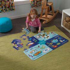 KidKraft 24 Piece Judaica Holiday Floor Puzzle - 63473