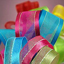 Mixed Satin/Sheer Ribbon