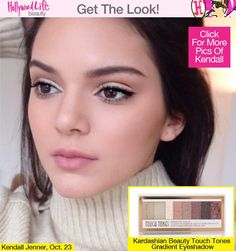 How to get Kendall Jenners natural makeup look.