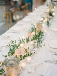 34 Simple Greenery Wedding Centerpieces Decor Ideas