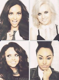 Little Mix. Jade Thirwall, Perrie Edwards, Leigh Anne Pinnock, and Jesy Nelson.