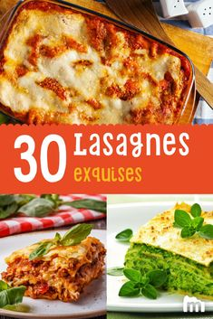 Batch Cooking, Cooking Recipes, Food Dishes, Main Dishes, Lasagne Recipes, Fast Food, Pasta, French Food, Mediterranean Recipes