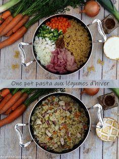 one pot pasta aux légumes d'hiver