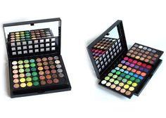 96 színű profi smink paletta - tükörrel és applikátorral