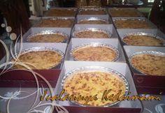 Macaroni Medium Harga : Rp120.000  (aluminium foil ukuran ø22cm x tinggi 5cm, Berat ± 1500gr)