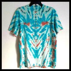 Tie-Dye Hippie☮ Shirt Handmade tie dye shirt / Never worn!!! / 100% cotton / Unisex size Medium but fits a Large (Adult T-Shirt) Sonoma Tops