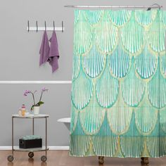 Found it at Wayfair - Donmoyer Scallops Shower Curtain