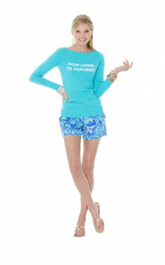 Lilly Pulitzer Marielle Sweater in How Long Til Summer Intarsia. I need this!