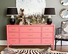 The perfect peachy coral statement piece!