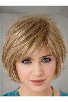 Schönheit 20 super chic hairstyles for fine straight hair Bob haircut with . Short Hairstyles Fine, Haircuts For Fine Hair, Chic Hairstyles, Short Bob Haircuts, Hairstyles With Bangs, Hairstyle Ideas, Black Hairstyles, Haircut Short, Pixie Hairstyles