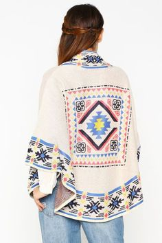Santa Fe style tribal trim sweater Bell Sleeves, Bell Sleeve Top, Santa Fe Style, Sweaters, Shopping, Collection, Tops, Women, Fashion