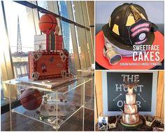 Groom's Cakes   Sweetface Cakes   #SweetfaceCakes #W101Nashville #NashvilleWedding