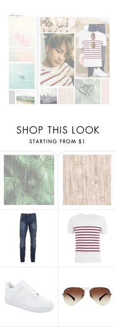 """""""~Minho~"""" by odesigns ❤ liked on Polyvore featuring Scotch & Soda, Armor-Lux, NIKE, Ray-Ban, men's fashion, menswear, kpop, shinee and minho"""