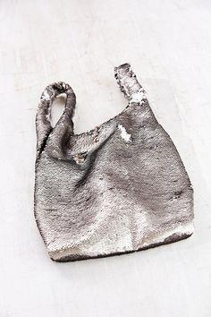 Ecote Allover Sequin Shopper Bag - Urban Outfitters