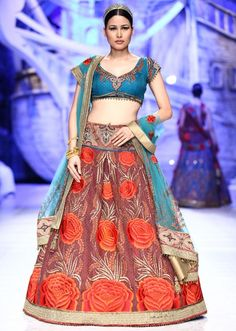 JJ Valaya collection at Bridal Fashion show 2013 at Delhi 08