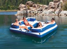 Temporary Price Reduction!!!  Large Floating Outdoor Island Lounge Water Raft…