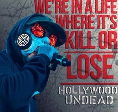 We are! Hollywood undead