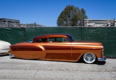 1953 Chevy like a shiny penny.