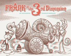 Artists :: Jim Woodring :: Frank in the 3rd Dimension