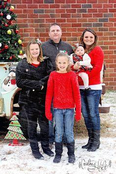 Family Christmas | Courtney Holt Photography