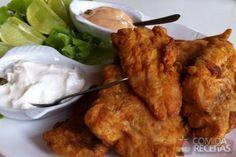 Receita de Peixe empanado saboroso em receitas de peixes, veja essa e outras receitas aqui!