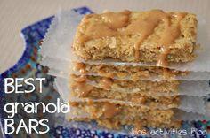 Granola Bar Recipe: {Yummy} Breakfast Recipes