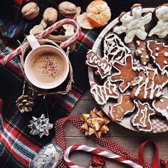 Sweet christmas biscuit