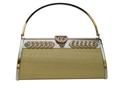 The Gold Imported Clutch is made with High quality material with a gold coated steel handle. Its Closure is also made out of gold coated steel. Its Front and closure is designed with a beautiful stones on top. It has a zipped pouch inside the clutch bag. It its very easy and useful for modern girls and women to keep their stuffs  like cosmetic, money etc. It gives a royalty for the modern girls and women in their society. It gives a pride for a Party Celebrating Women and Girls.