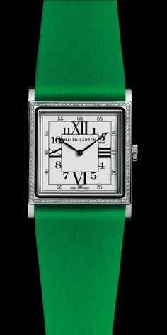 Ralph LaurenSquare model in white gold withmovement RL430 made by Piaget, from the Ralph Lauren 867 collection.