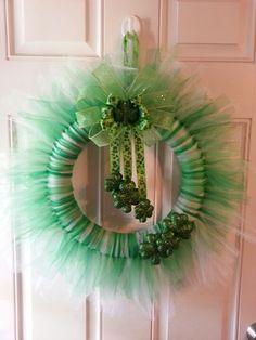 St pattys day wreath