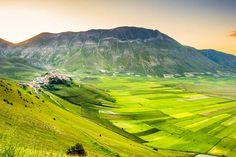 Europa segreta: Castelluccio di Norcia e Monti Sibillini #umbria