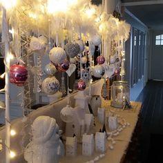 kerstdecoratie tafelklem