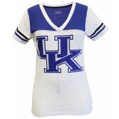 "Kentucky Wildcats ""Rhine & Shine Football"" Tee #UniversityofKentucky #UK #Wildcats #UKWildcats"