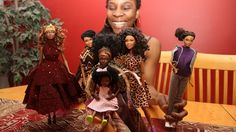"""""""That started Robinson down a path of giving dolls makeovers — providing them with loose curls and dreadlocks, hijabs and sarongs..."""""""