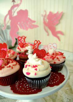 #Cupcakes San Valentín #Magnolia