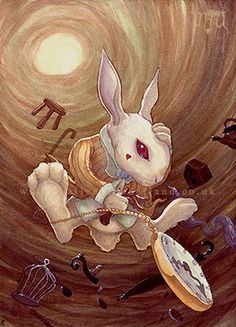 ... Down the Rabbit Hole / Disney Alice in Wonderland - Falling Down the