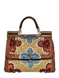 90e6cb2b8593d6 Dolce  amp  Gabbana - Medium Sicily Bag