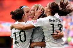 USA vs Germany, The first semi final of the women's soccer World Cup Us Soccer, Soccer Match, Soccer Tips, Soccer World, Play Soccer, Soccer Players, Morgan Soccer, Nike Soccer, Soccer Cleats