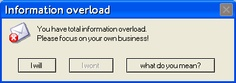 are you suffer from information overload?